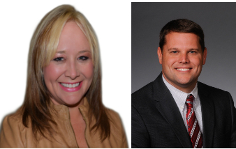 Left: Rep.-Elect Petty Right: Sen. Hester