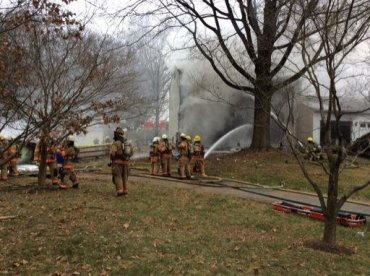 Gaithersburg, Maryland plane crash scene