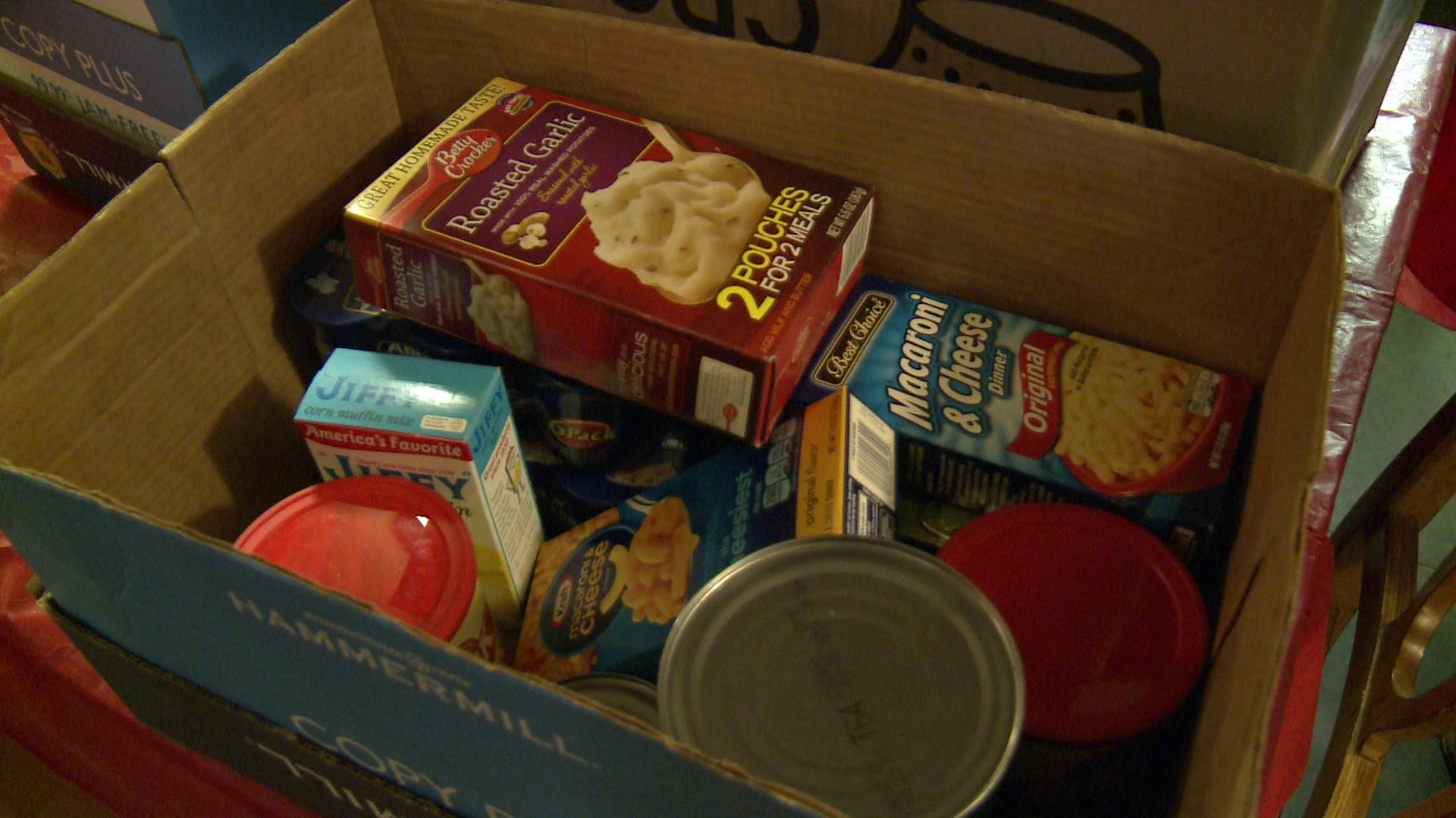VETERANS FOOD DONATION