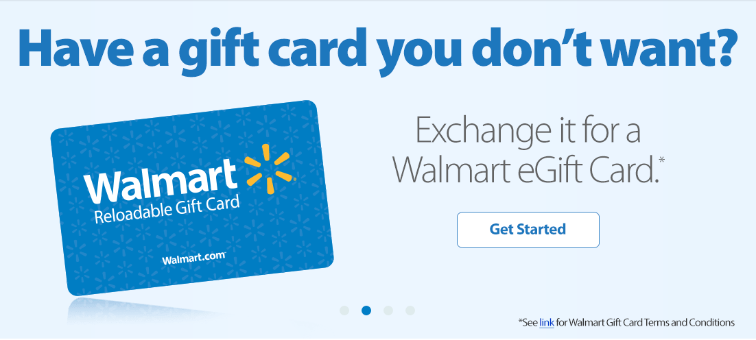 Walmart Lets Customers Trade Unwanted Gift Cards For Walmart Gift