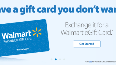 Walmart lets customers trade unwanted gift cards for walmart gift walmart lets customers trade unwanted gift cards negle Images