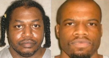 Photos of Charles Warner (left) and Clayton Lockett (left) from the Oklahoma Department of Corrections.