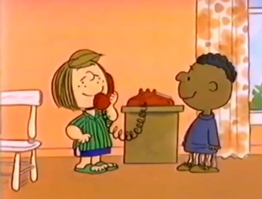 charlie brown mlk racist video