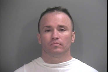 Mugshot of Christopher Paschall after Jan. 5, 2015 arrest.