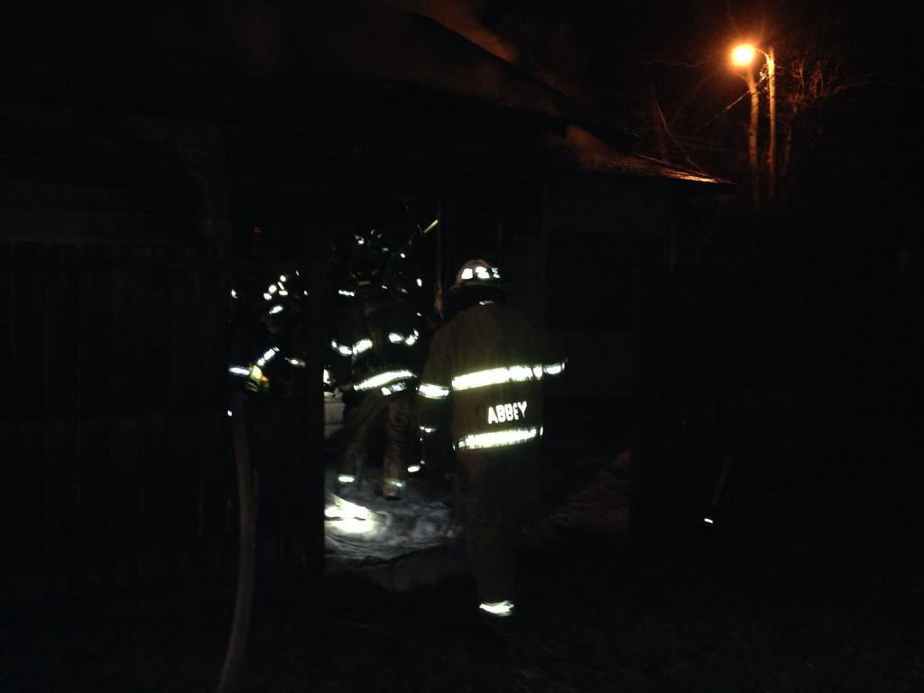 Fire at unoccupied home on N. 13th St. in Fort Smith.