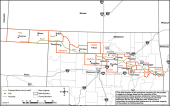 Proposed Oklahoma route