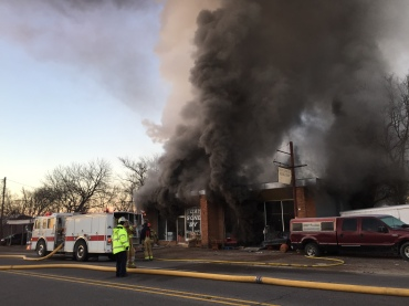 thrift store fire fort smith