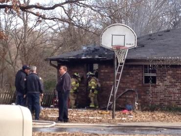 van buren house fire