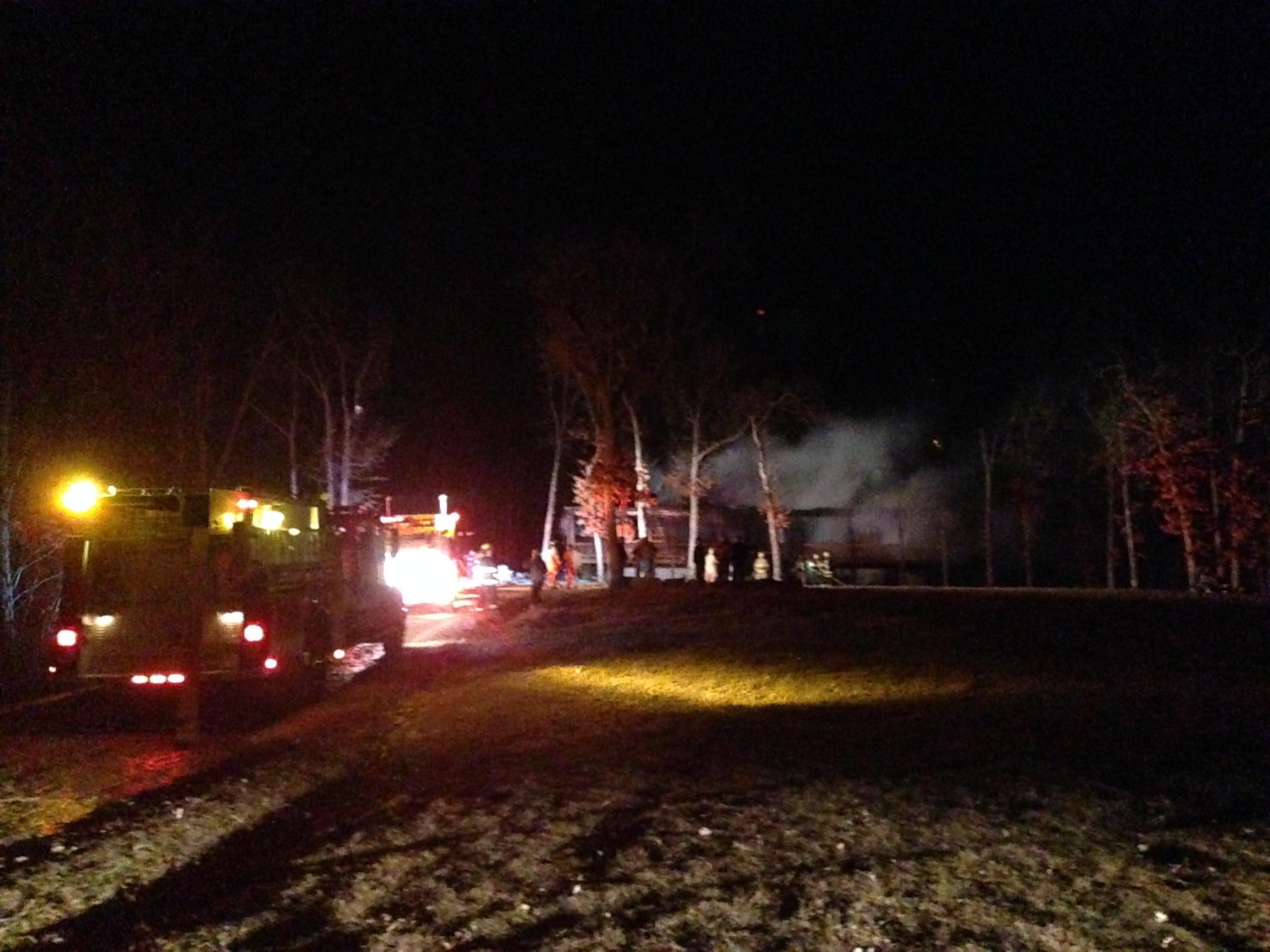 FARMINGTON HOUSE FIRE