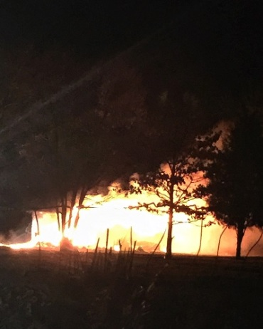 muldrow early morning fire