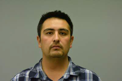 Munoz's booking photo