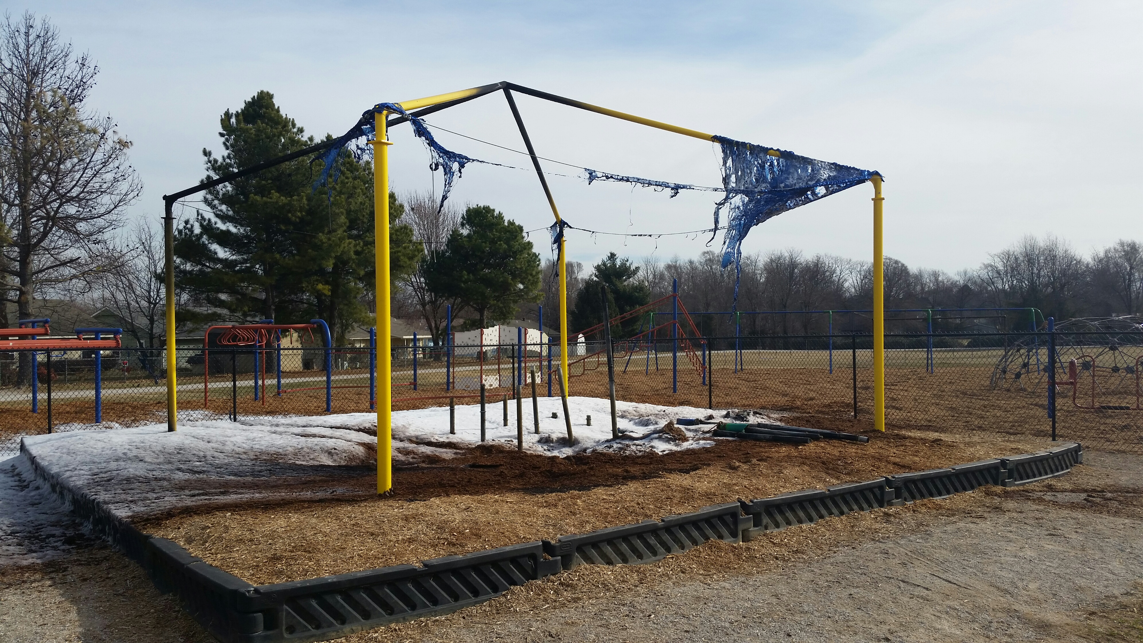 rogers playground fire 2