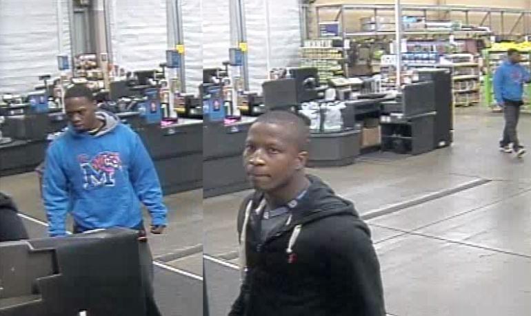 Walmart theft suspects