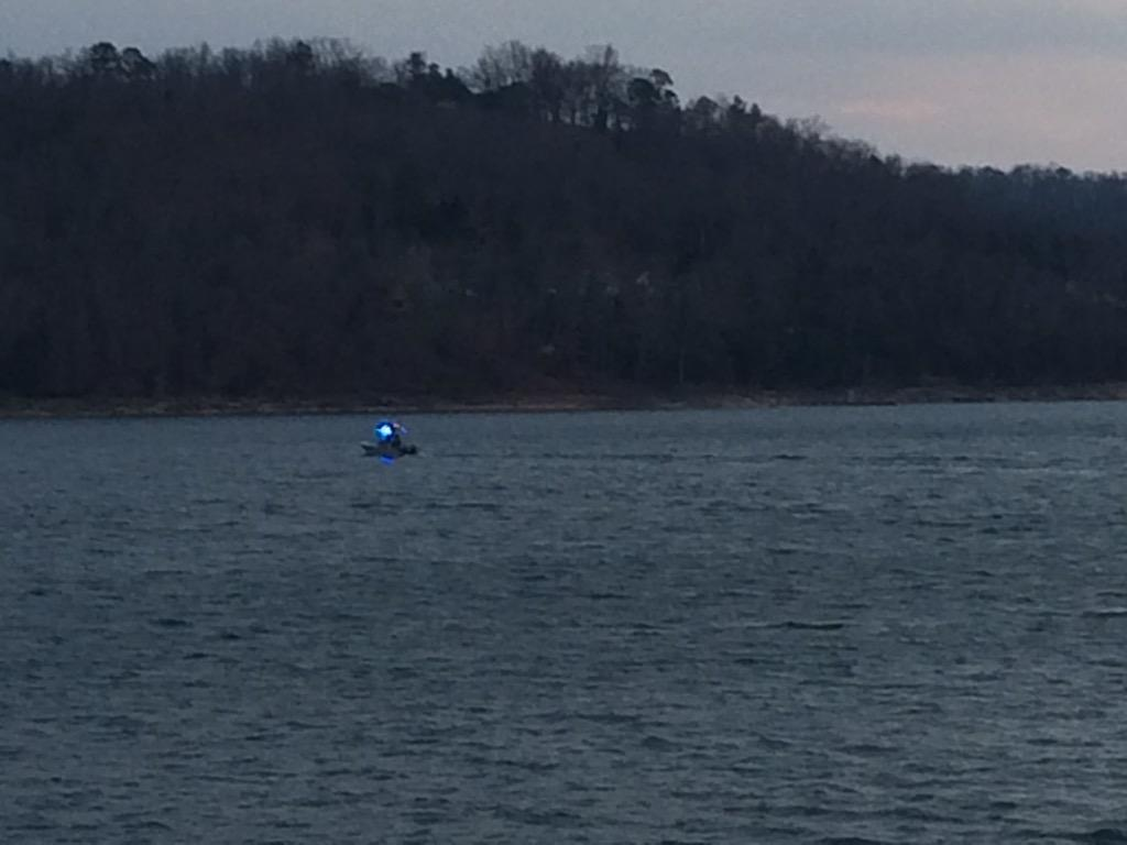 Crews search for missing woman on Beaver Lake.