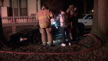 CAR FIRE 1
