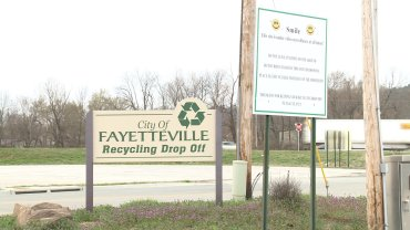 fayetteville recycling center