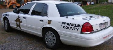 Franklin Co Sheriff Car