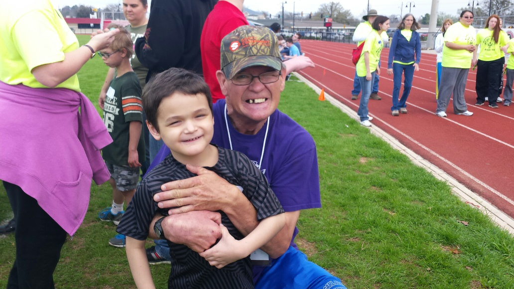 60-year-old Freddy McCoy and 7-year-old Sawyer Owens were the oldest and youngest athletes on Wednesday. Owens competed for the first time ever, and won first place in the softball throw.