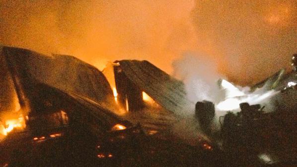 crawco fire burning