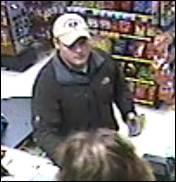 Lottery thief