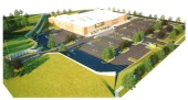 A rendering of the planned Walmart Neighborhood Market. (Courtesy of: Harrison French & Associates)