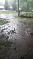 Gentry neighborhood flooding