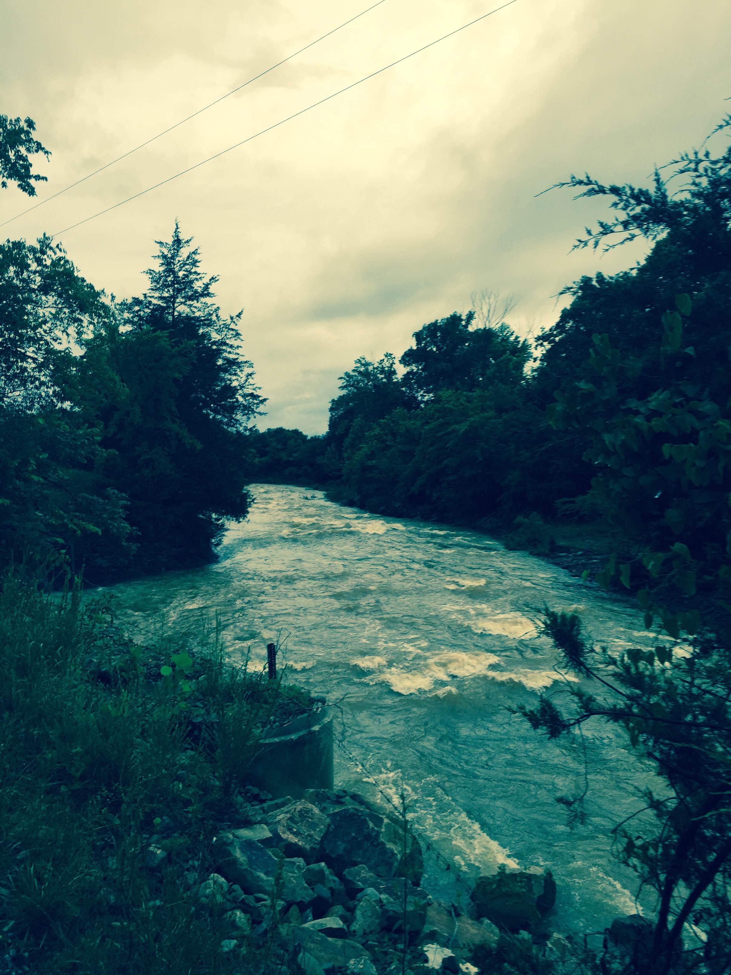 Hazel Creek from 5NEWS viewer Damon Hill