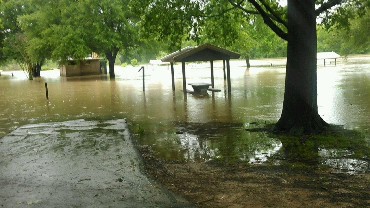 Clear Creek in Kibler, Arkansas