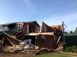 Home damaged in Poteau (Courtesy: James Gardner)