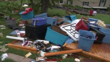 Poteau Storm Damage