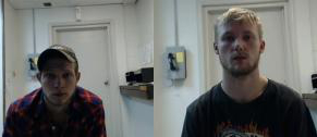 Left: Devan W. Munger Right: Michael McCarley