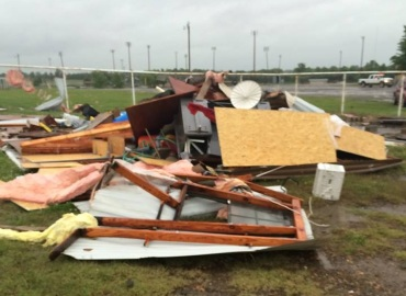 Rodeo Grounds Tornado 2015