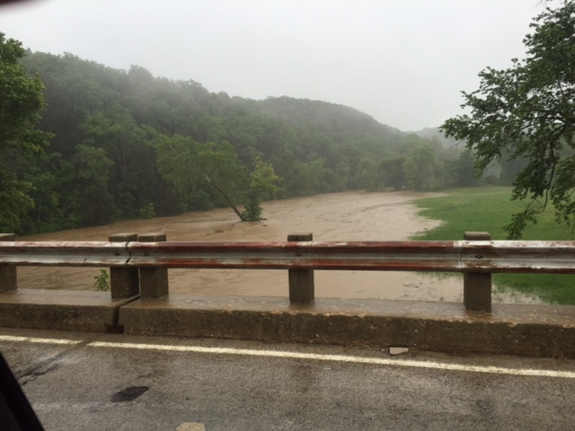 War Eagle Creek from 5NEWS viewer Terrie May