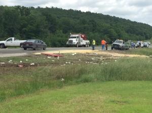 wister crash scene