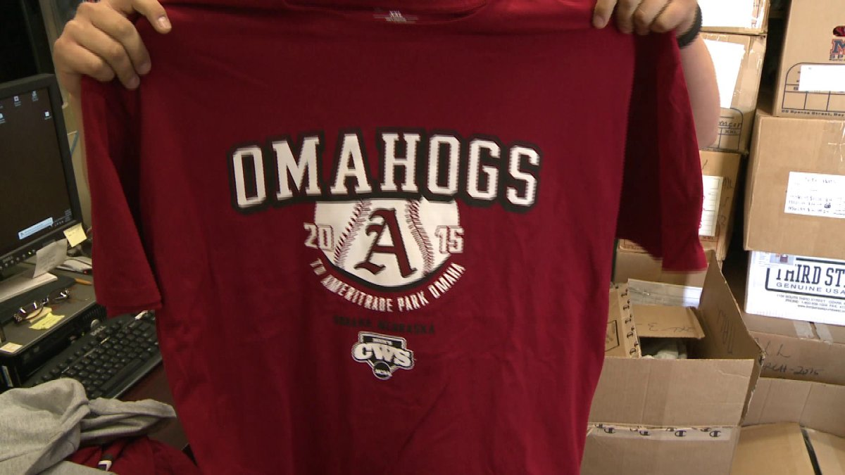 fans shop for omahogs apparel in fayetteville fort smith