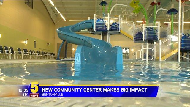 Unique community center expanding in bentonville fort for Bentonville pool