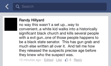 randy hillyard FB post
