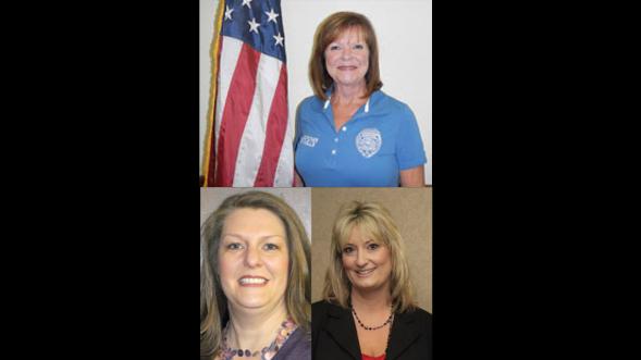 Top: Pam Wells Left: Teresa Armer Right: Sharon Blount-Baker