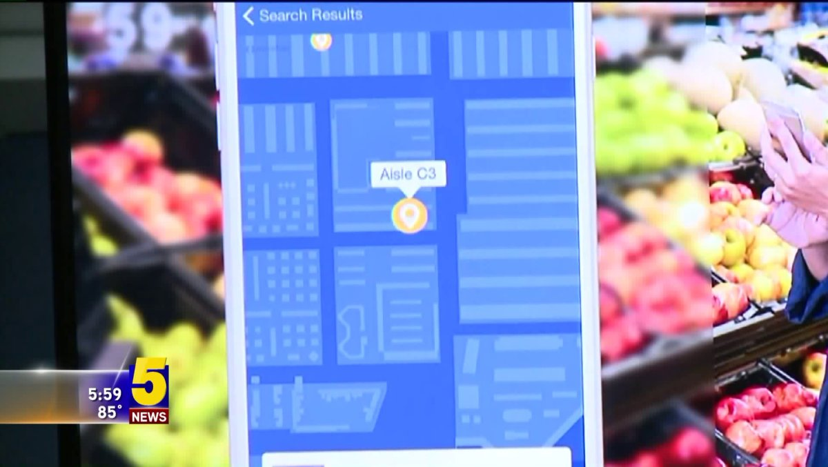 Walmart Launches New Map Feature In App, Robotic Pickup