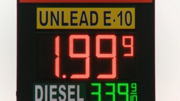 Embargoed to Oklahoma City, OK  Gas in Okalhoma City is down to $1.99