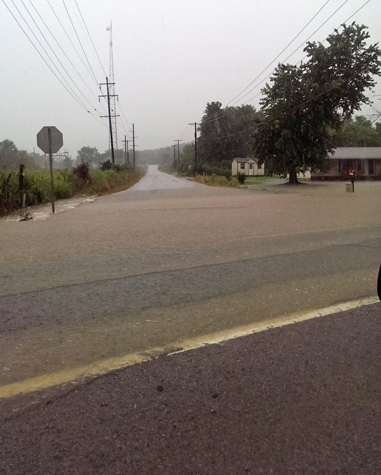 Buchanan St. and Applehill Rd. in Prairie Grove (Courtesy: Washington County Sheriff's Office)