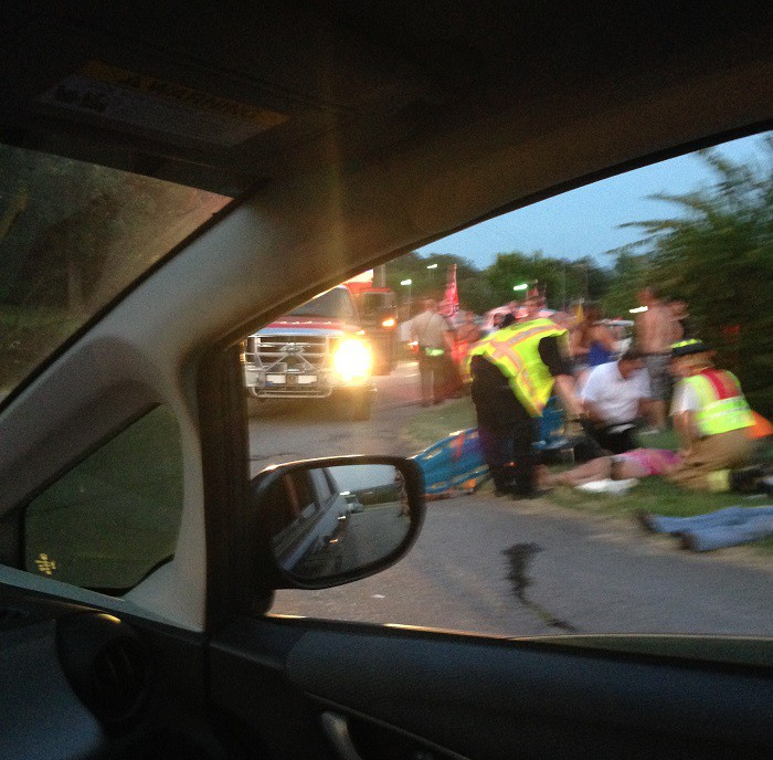Teens Injured At Confederate Flag Rally photo by Rachel Yates