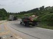 Bentonville Truck Spill