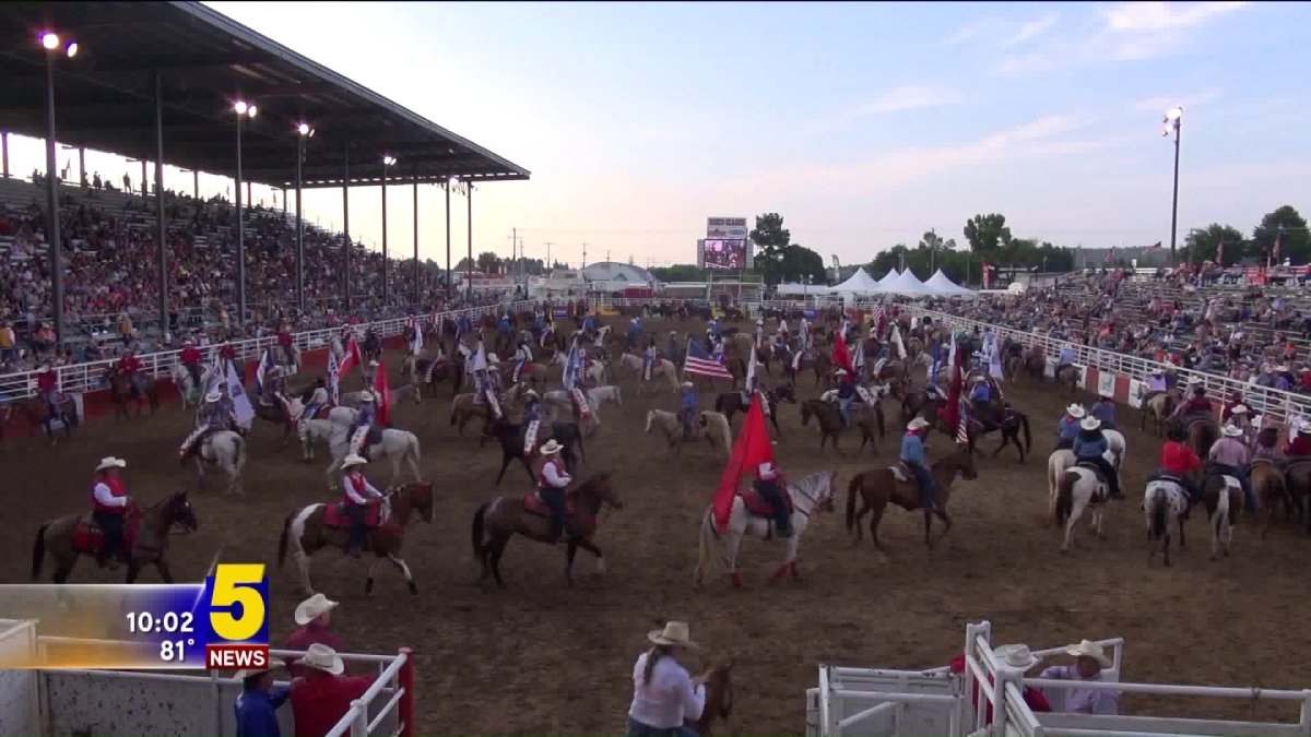 Rodeo Of The Ozarks Finishes On Fourth Of July Holiday