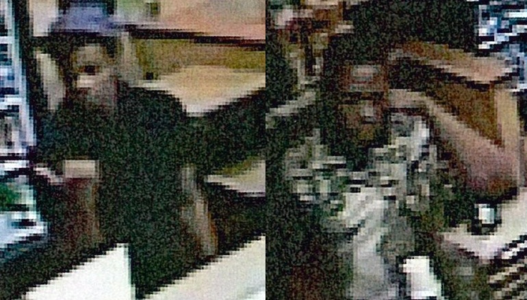 Suspect One (left). Suspect Two (right). Courtesy: Johnson Co. Sheriff's Office