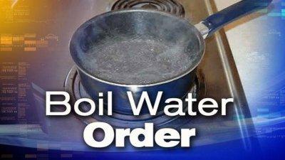 BOIL WATER: