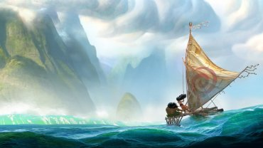 "Disney is making another movie with a notable female protagonist. ""Moana,"" coming in late 2016, is about a Polynesian girl from Oceania who goes in search of adventure. Photo: CNN Wire"