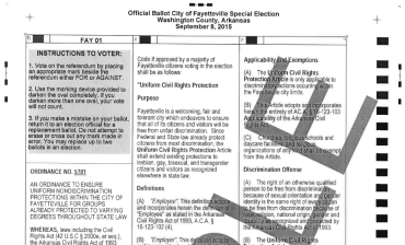 ordinance 5781 sample ballot
