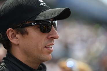 IndyCar driver Justin Wilson passed away from injuries he sustained Sunday, August 24, 2015, at Pocono Raceway, Mark Miles, the CEO of Hulman & Co, the parent company of IndyCar and Indianapolis Motor Speedway announced Monday. Wilson was hit in the head Sunday when the nose cone of driver Sage Karam's car flew off during a crash at Pocono Raceway in Long Pond, Pennsylvania.