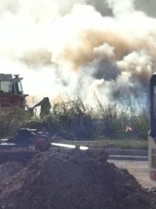 car fire pic